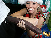 Hot Tabitha James surprised by huge cock